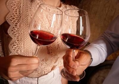 Fradé Weinprobe